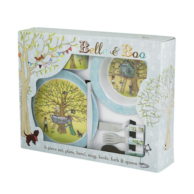 Belle and Boo Coffret Repas 6 pièces \