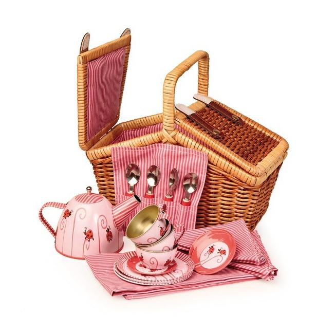 jouets jouets d 39 imitation panier d nette service th. Black Bedroom Furniture Sets. Home Design Ideas