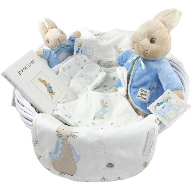 nos corbeilles compos es corbeilles naissance fille corbeille de naissance peter rabbit. Black Bedroom Furniture Sets. Home Design Ideas