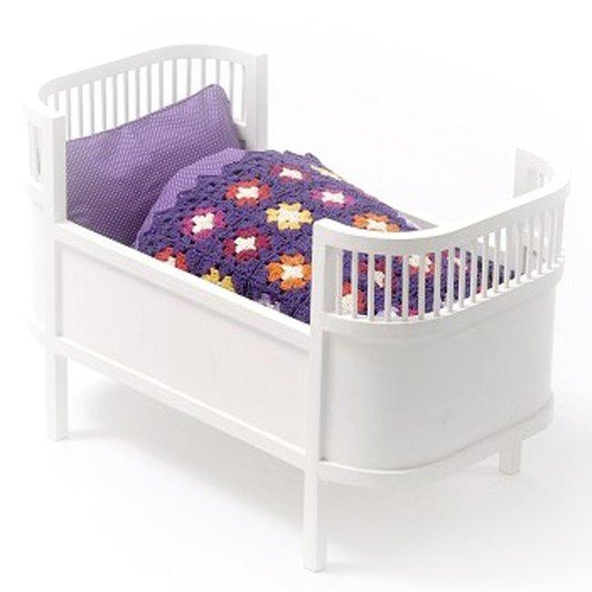 smallstuff lit de poup e design scandinave blanc. Black Bedroom Furniture Sets. Home Design Ideas