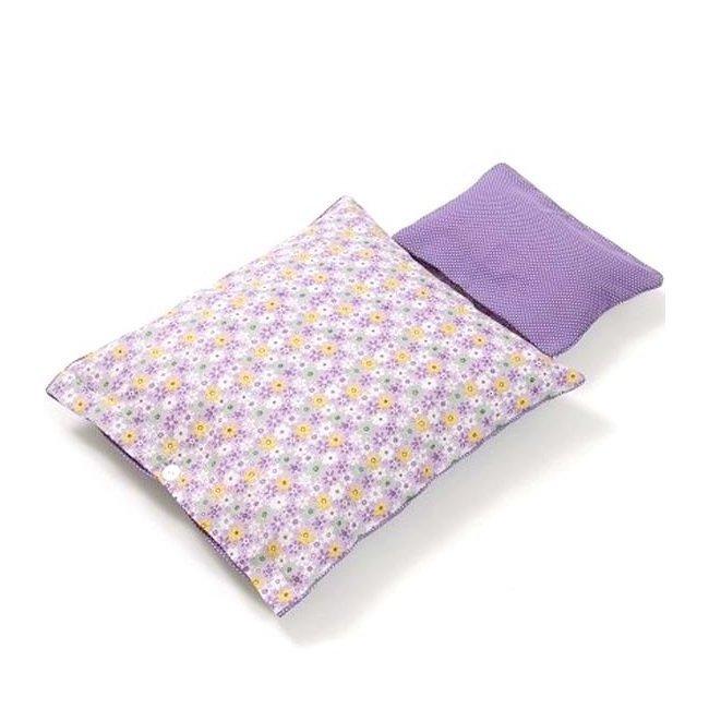 smallstuff set de literie pour lit de poup e imprim parme. Black Bedroom Furniture Sets. Home Design Ideas
