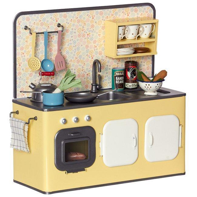maileg cuisine m tal vintage et ses ustensiles. Black Bedroom Furniture Sets. Home Design Ideas