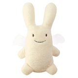 Ange Lapin Musical Ivoire (24cm)