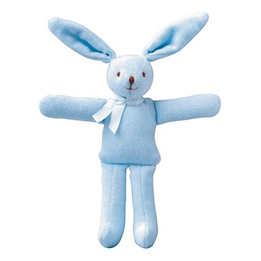 jouets doudous et peluches doudou lapin hochet bleu rose milk. Black Bedroom Furniture Sets. Home Design Ideas