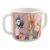 Tasse Bébé 2 Anses Peter Rabbit Rose