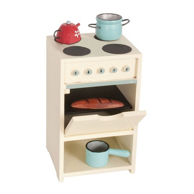 jouets poup es et maisons cuisini re en bois et ustensiles rose milk. Black Bedroom Furniture Sets. Home Design Ideas