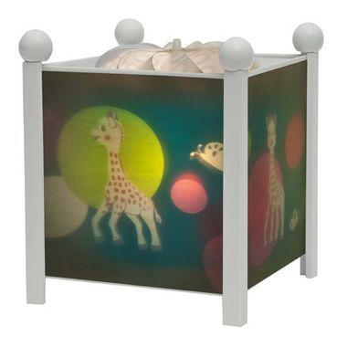 d coration lampes et veilleuses lanterne magique sophie la girafe rose milk. Black Bedroom Furniture Sets. Home Design Ideas