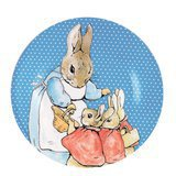 Assiette Peter Rabbit Bleue