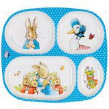 Assiette à Compartiments Bébé Peter Rabbit