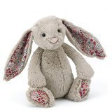 Peluche Lapin Beige Blossom (31 cm)