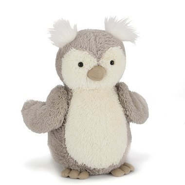 peluche hibou jellycat peanut owl. Black Bedroom Furniture Sets. Home Design Ideas