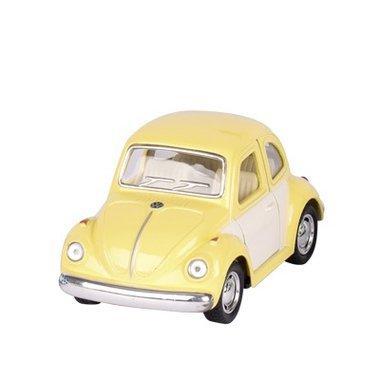 voiture coccinelle jaune miniature