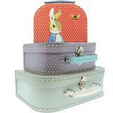 Set de 3 Valisettes Peter Rabbit
