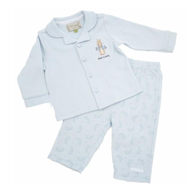 38a74816b1fc0 Mode   Bébé Garçon (0-24 mois)   Pyjama 2 Pièces Peter Rabbit Bleu ...