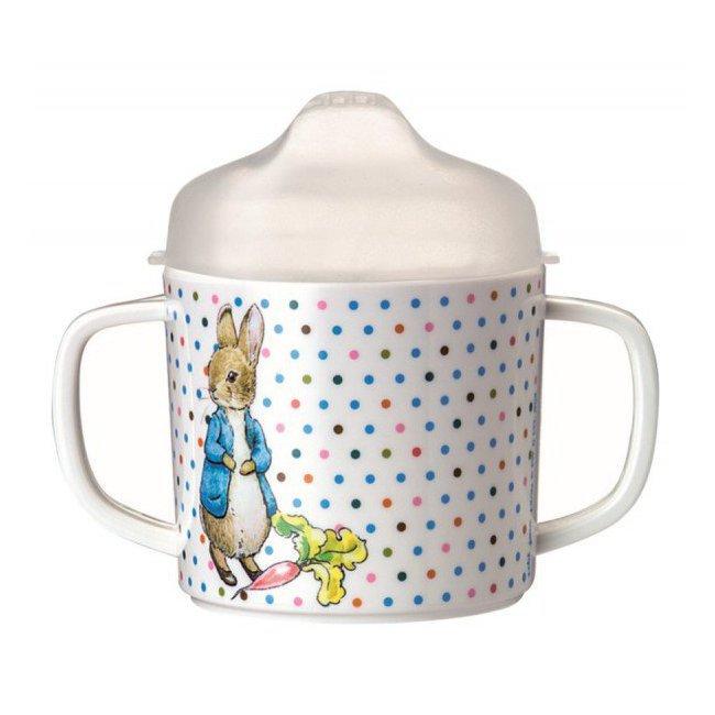 Bébé 2 Anses Tasse Peter Rabbit yNnO8Pvm0w