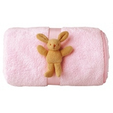 Couverture Peluche Rose