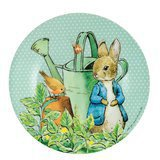 Assiette Peter Rabbit Verte