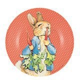 Assiette Peter Rabbit Rouge