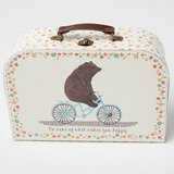 Set de 3 Valisettes Rétros Happy Animals on Bike