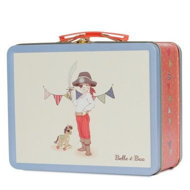 "Valise Métal Lunchbox ""Ellis & Easy"""