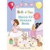 "Livre d'Autocollants en Anglais ""Dress Up"" Belle & Boo"