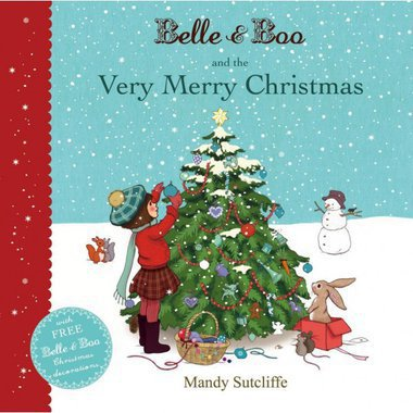 "Livre en anglais ""Belle & Boo and the Very Merry Christmas"""
