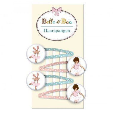 Barrettes Belle & Boo (Set de 4)