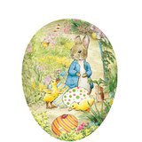 Oeuf de Pâques Vintage - Peter Rabbit with Ducklings
