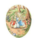Oeuf de Pâques Vintage - Peter Rabbit and Mrs Rabbit