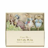 Lot de 12 Mini Pics Peter Rabbit & Friends