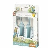 Set de 3 Couverts Peter Rabbit